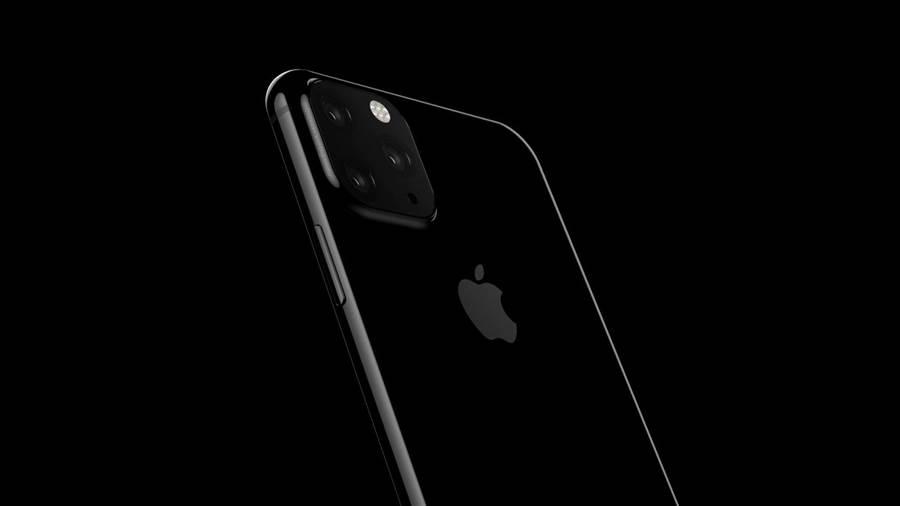 爆料者分享的三攝 iPhone 渲染圖。(圖/翻攝Twitter)