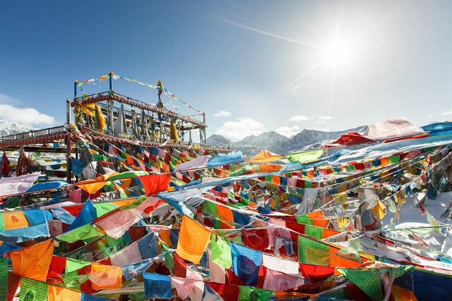 西藏示意圖。(圖/達志影像)