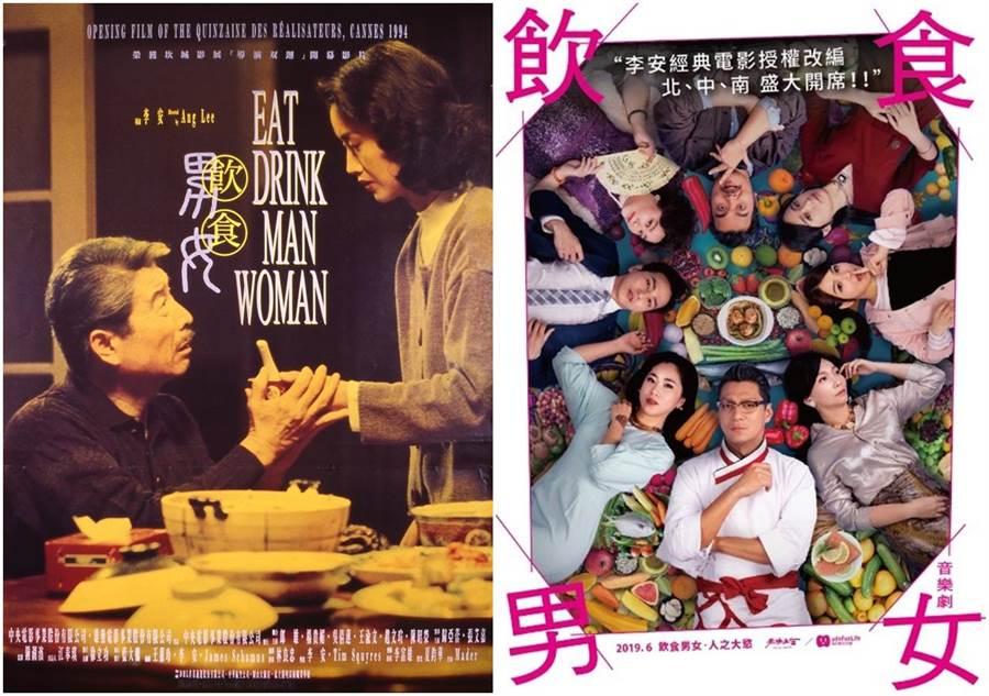電影《飲食男女》將改編成音樂劇。(授權自中影、天作之合劇場)