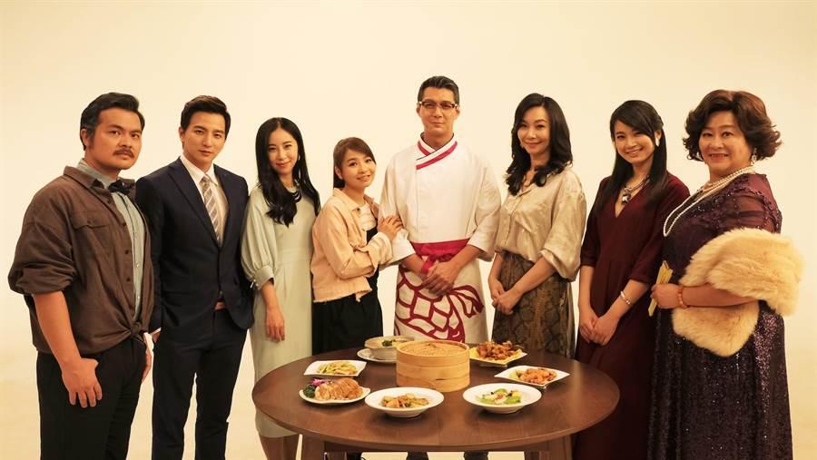台韓攜手合作演出音樂劇《飲食男女》撞出新火花。(天作之合劇場)