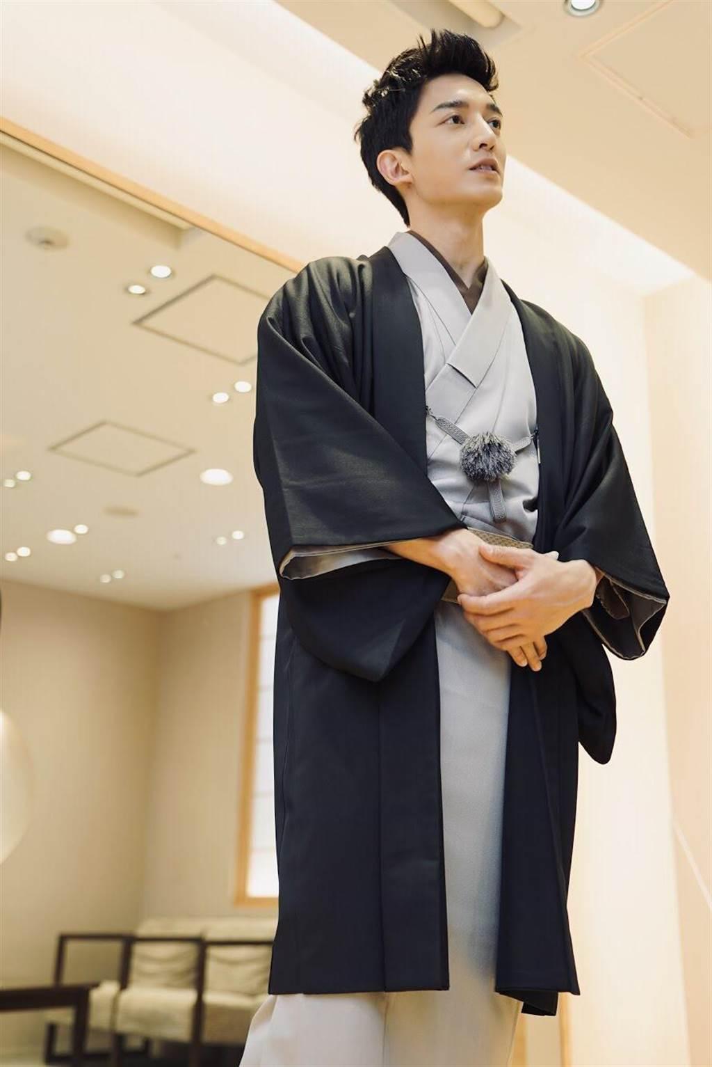 王家梁穿和服。(日昇正亮娛樂 x Fun Japan Taiwan)