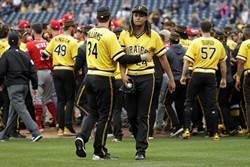 MLB》紅人海盜全武行 肇事投手禁賽5場