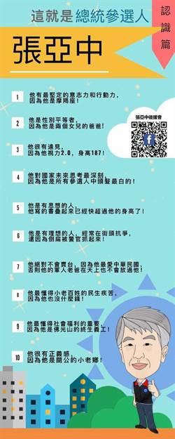 張亞中致吳敦義主席及黨員的三封信(一)