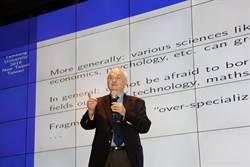 國際決策分析學者Janusz Kacprzyk 淡江大學開講