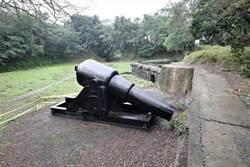 二沙灣仿製大砲 砲口下垂待修