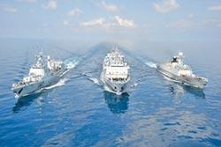 陸下水軍艦總噸位 去年占全球1/3