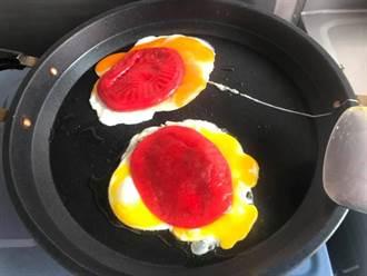 古早味紅龜粿「隱藏版吃法」網讚爆