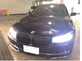 應召站BMW大7房車 245萬元拍定