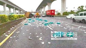 國道散落物要收清理費 30分鐘3000元