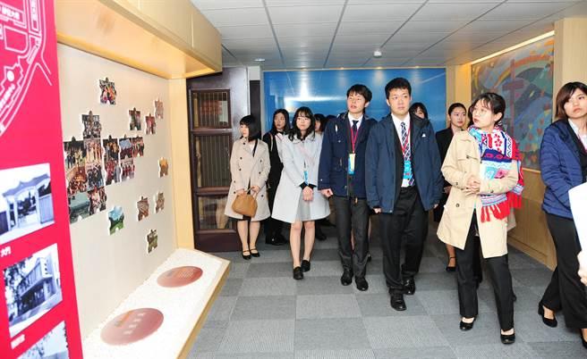 「日本大學生訪華研修團」一行16人至靜宜大學參訪!(陳世宗攝)