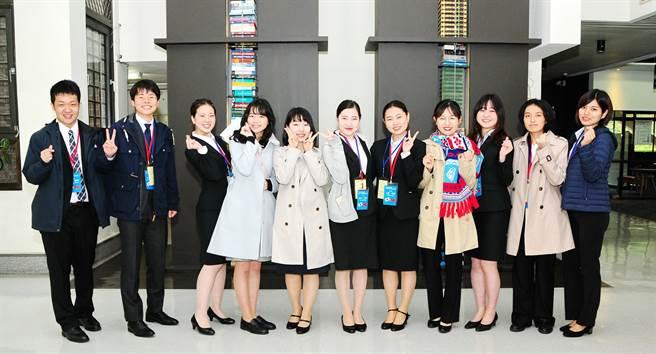 「日本大學生訪華研修團」已邁入第32年,期待團員成為台日文化交流橋梁,並促進雙方友好關係。(陳世宗攝)