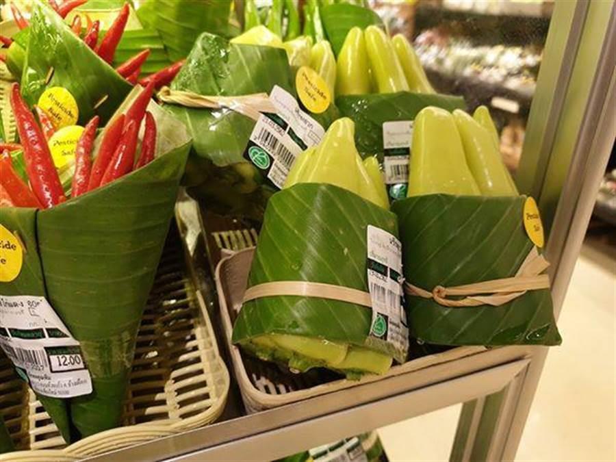 香蕉葉吸水也不會腐爛(圖片取自/Perfect Homes Chiangmai FB)