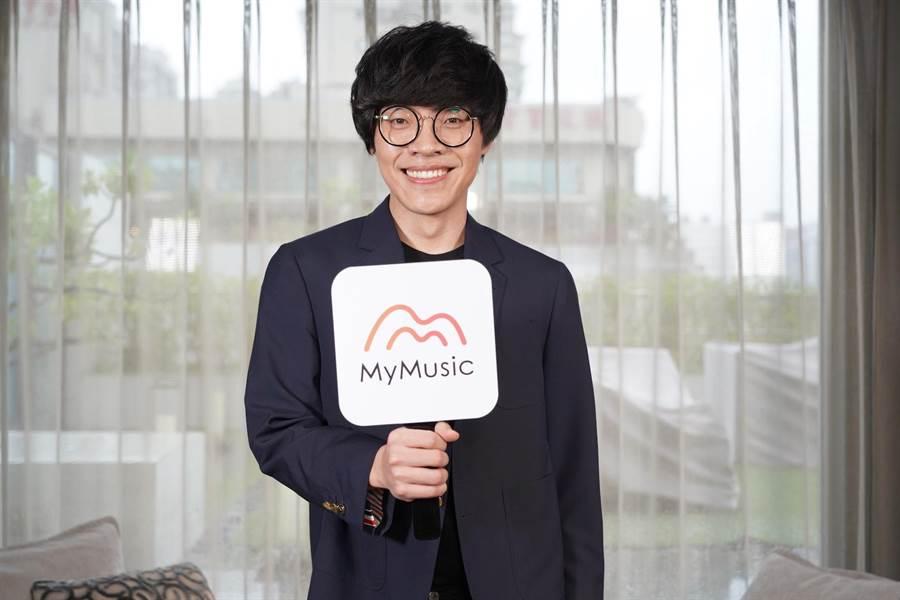 盧廣仲接受MyMusic主持人陳大天專訪。(MyMusic提供)