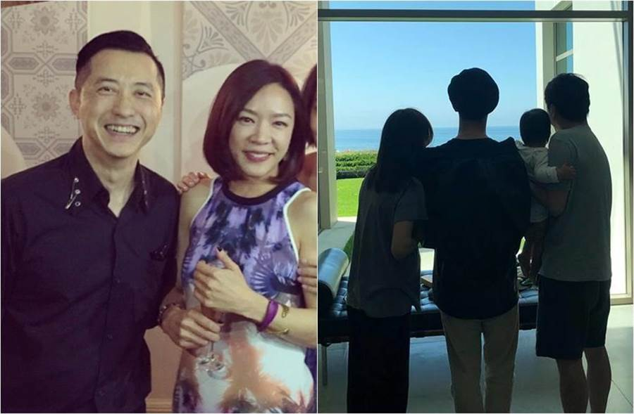 庾澄慶和張嘉欣結婚3年。(圖/翻攝自關穎微博、Harlem Yu 庾澄慶臉書)