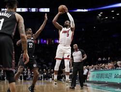 NBA》最後一舞!韋德退役秀摘大三元