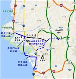 台南爭取開闢台61線「最後缺口」完善西濱快速路網