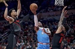 NBA》僅用6人!拓荒者驚奇大逆轉