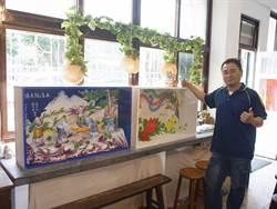 北港藝陣文化祭 藝師合力打造藝閣車