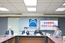 藍談台灣關係法 源自美棄台