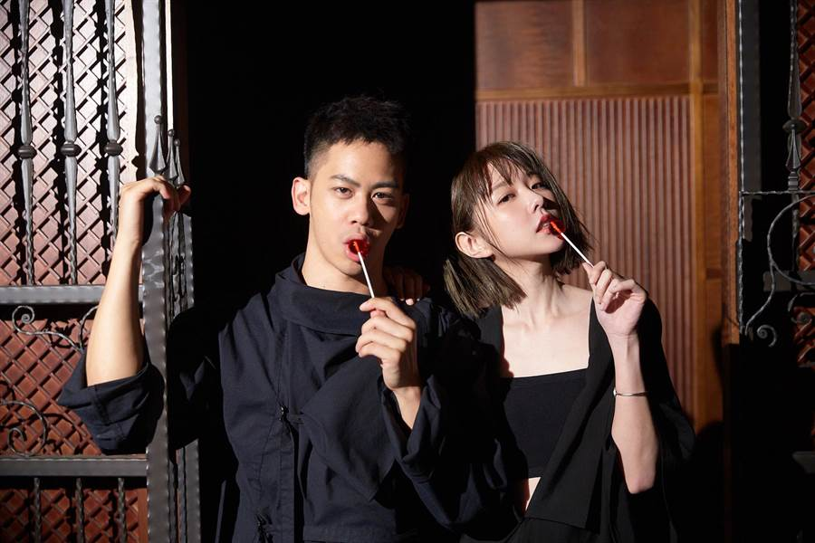 邵雨薇新歌邀李淳助陣拍MV。(寬宏藝術/Kham Music提供)