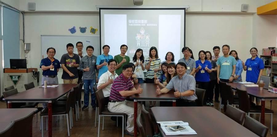 針對不適任教師處理,台南市教育產業工會辦研習。(台南市教育產業工會提供)