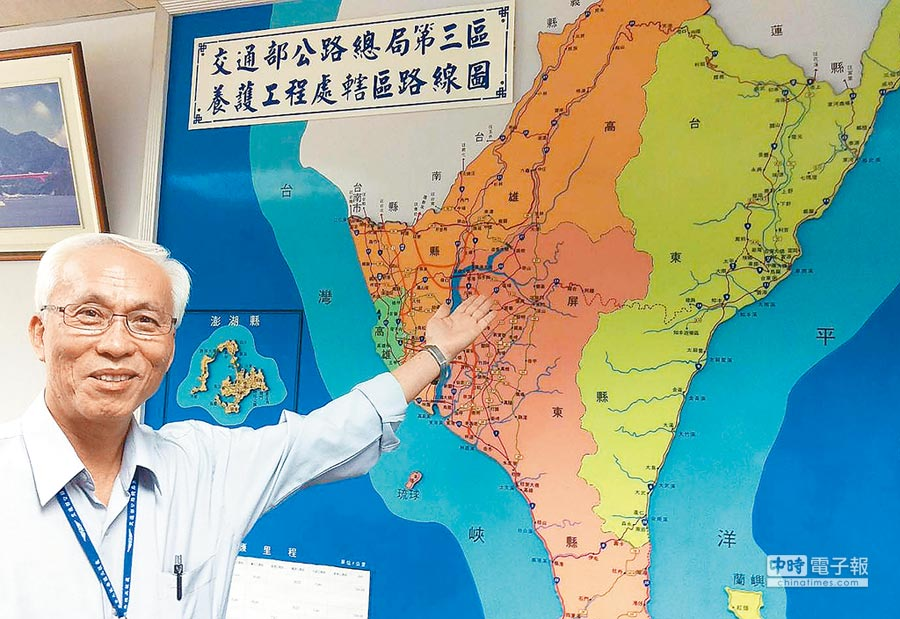 公路總局第三工務處長林清洲。(潘建志攝)