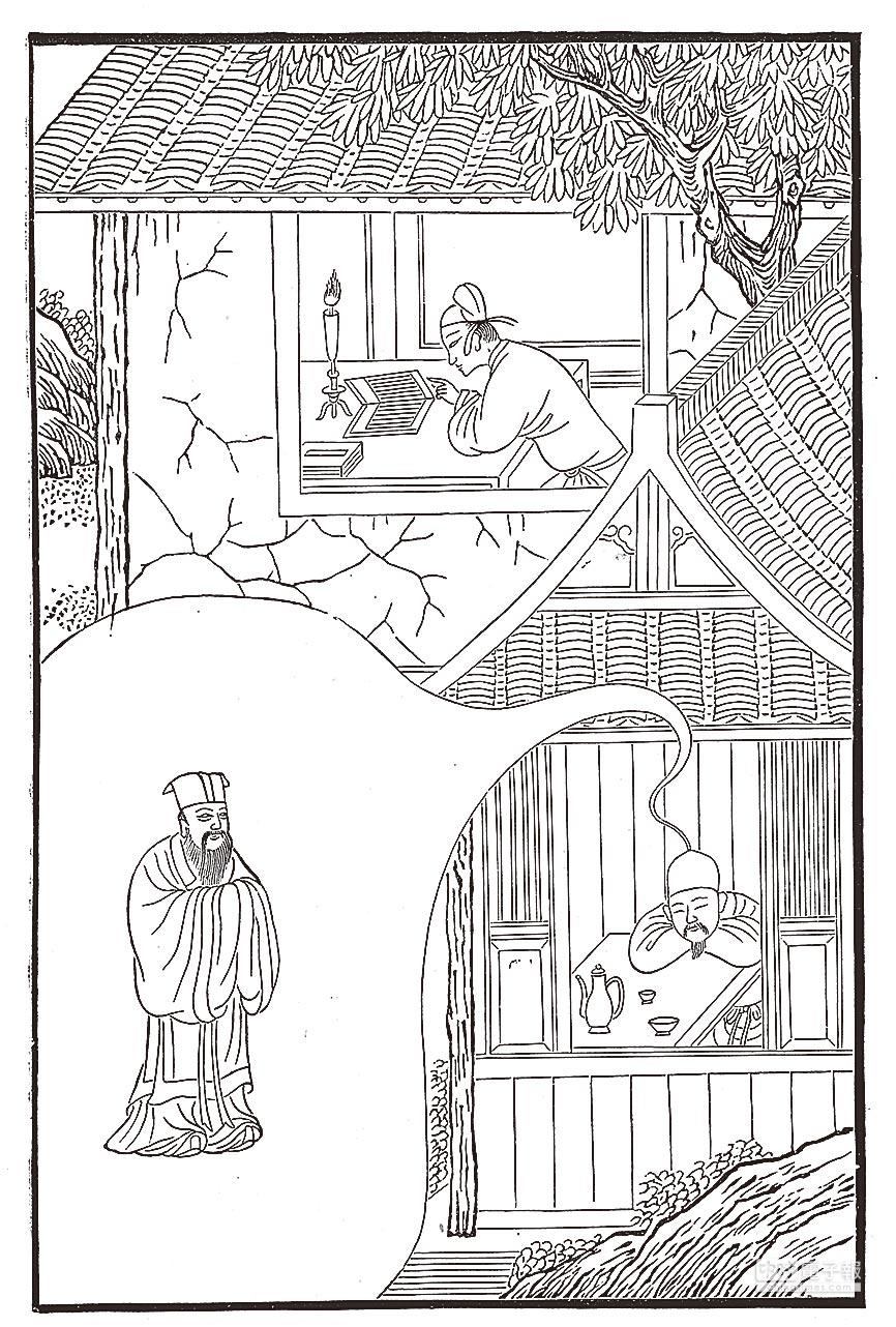 《夢境》(中國畫作)。(J.D.Cooper繪製)