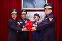 台中市市警察局新、卸任分局長及大隊長布達