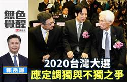 无色觉醒》赖岳谦:2020台湾大选 应定调独与不独之争