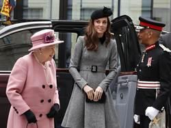 女王親指導 凱特展開準皇后特訓