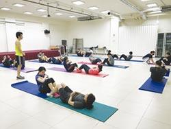 元大人壽展活力 主管齊練核心肌群