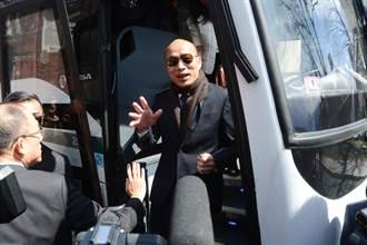 影》韓國瑜抵達哈佛校園 費正清中心主任宋怡明親自迎接