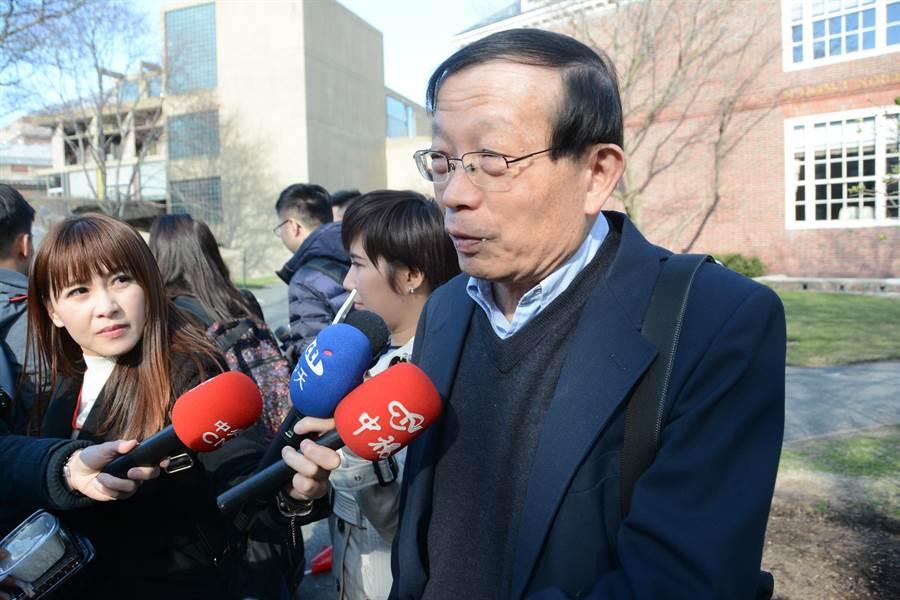 黃姓哈佛教授透露,韓國瑜與師生座談時,最多人關心兩岸關係,倒沒人問他要不要選總統。(林宏聰攝)