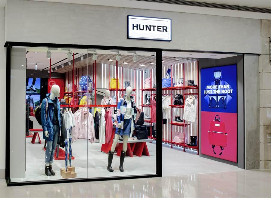 Hunter首次入駐台北101。(圖/品牌提供)