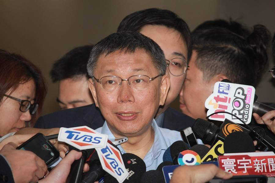 台北市長柯文哲。(本報資料照片)