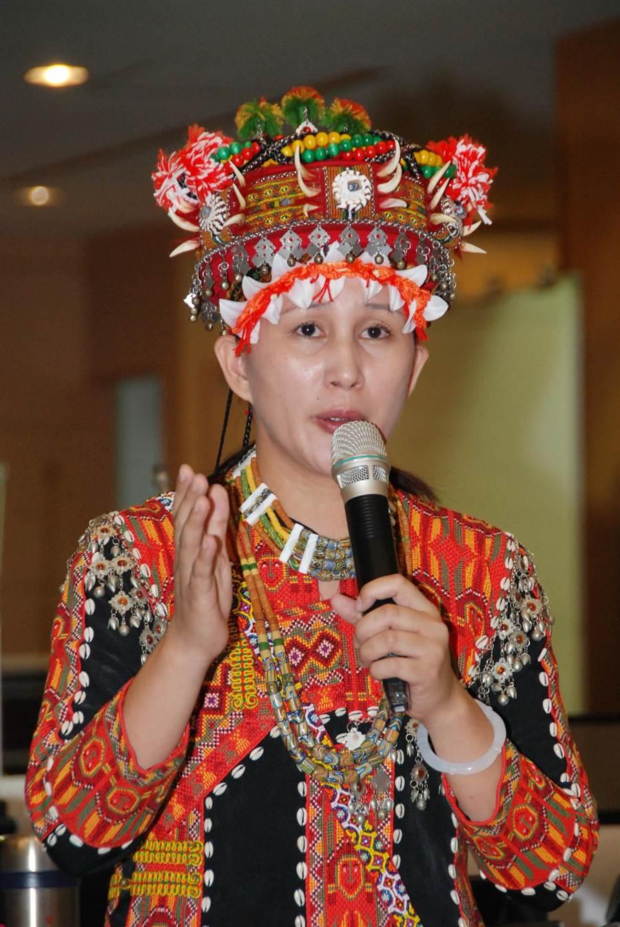 不滿民進黨總統初選延後,台南市議員谷暮.哈就退出黨團運作。(資料照片)