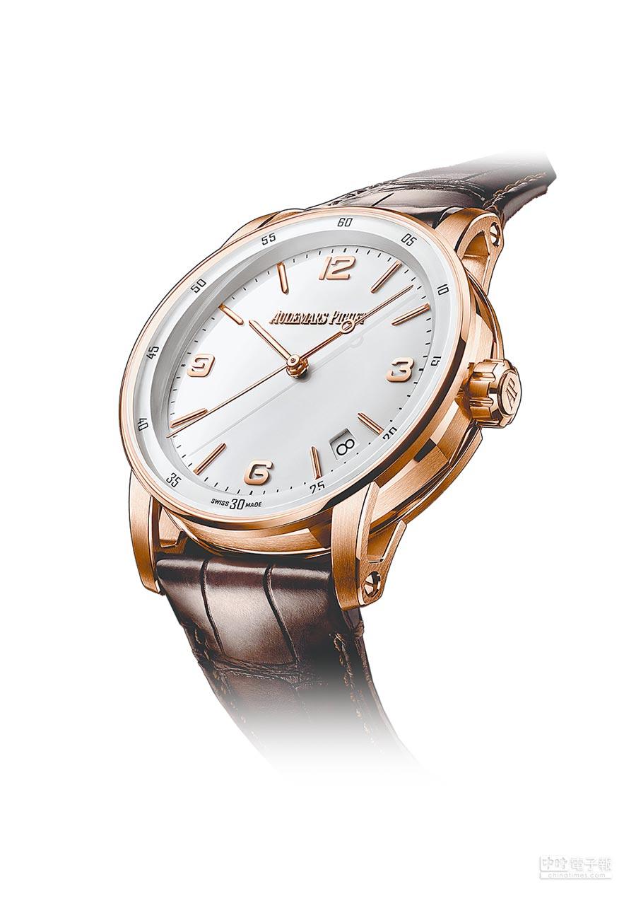 愛彼表CODE 11.59自動上鍊飛行陀飛輪腕表,400萬元。(Audemars Piguet提供)