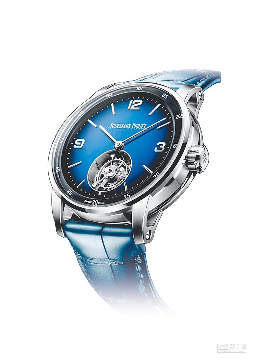 愛彼表CODE 11.59自動上鍊腕表,85萬8000元。(Audemars Piguet提供)