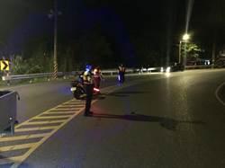 日籍男騎車自撞跌落烏來溪谷  送醫後宣告不治