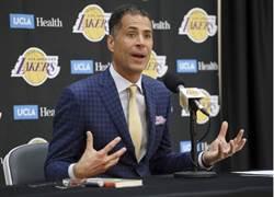 NBA》總教練也跑了 湖人亂成一團