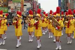 台南管樂藝術季 樂隊踩街大比拚