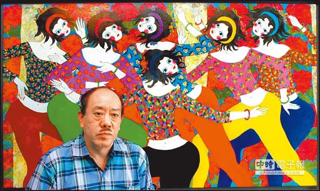 畫家吳昊過世,他的版畫作品充滿東方情調與生命力。(本報資料照片)