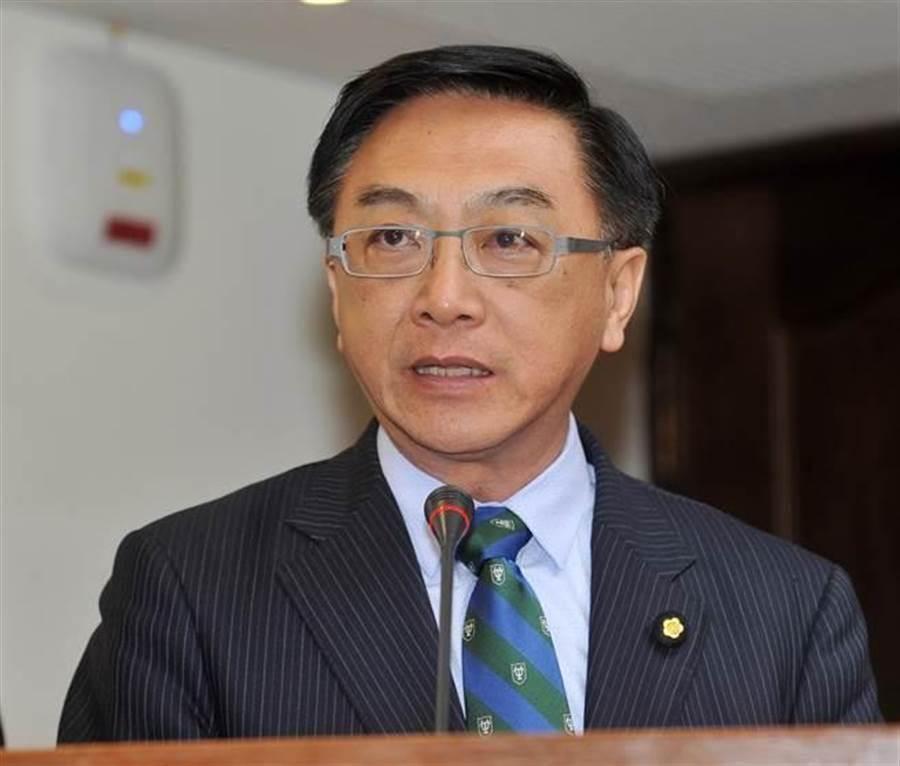 国民党立委陈宜民。(资料照片,刘宗龙摄)