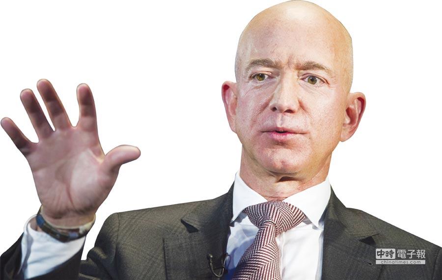 亞馬遜創辦人貝佐斯發表年度致股東公開信。圖/美聯社