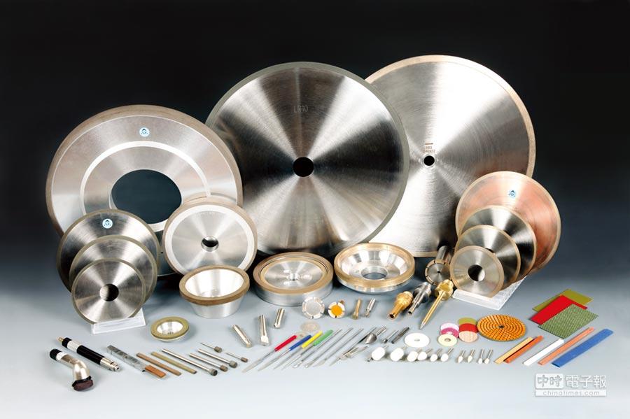 專業鑽石砂輪和研磨材料之製造及代理,提供各類產品訊息及技術諮詢服務,共創雙贏。圖/周蓮嬌