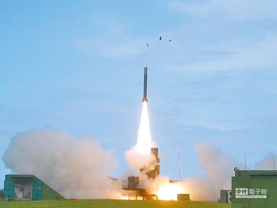 天弓三型飛彈。(取自中科院網站)
