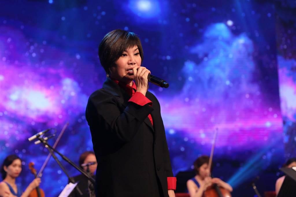 唐美雲上《台灣的聲音》。(民視)