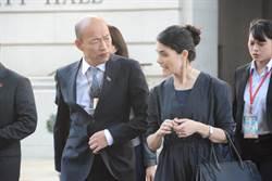 犧牲假日 洛杉磯副市長何契珍高規格接待韓國瑜