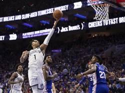 NBA》季後賽開打!籃網首役就爆冷門