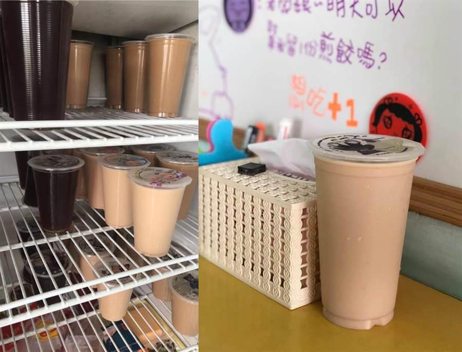 早餐店點「大涼奶」南部人全傻了(圖/翻攝自臉書《爆怨公社》)